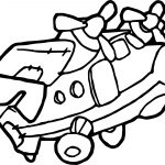 Airplane Free Engineering Coloring Page