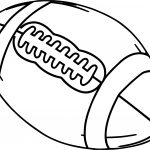 Alabama Football Ball Coloring Page