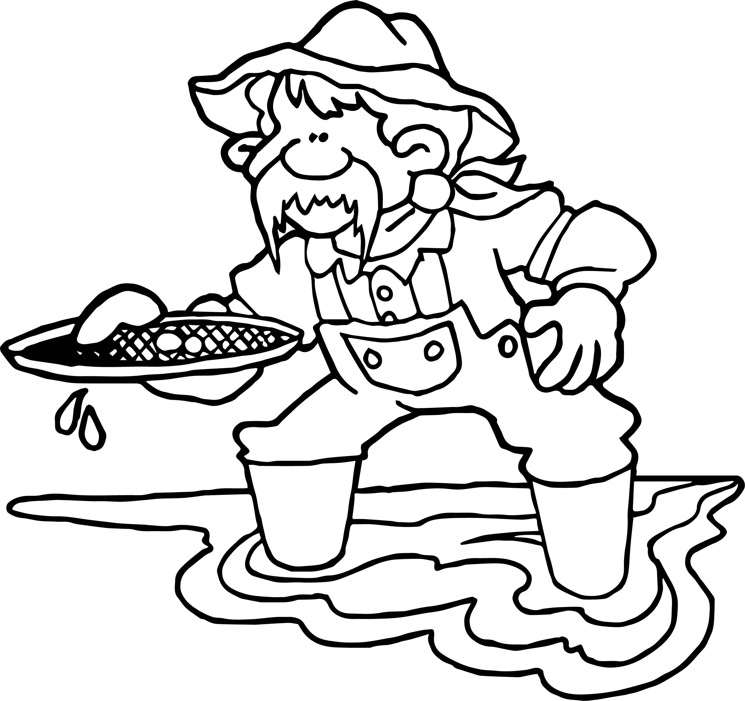 Alaska-Gold-Rush-Coloring-Page