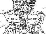 All Grown Up Rugrats Coloring Page