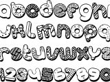Alphabet Shape And Number Coloring Page