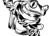 Amazon Frog Coloring Page
