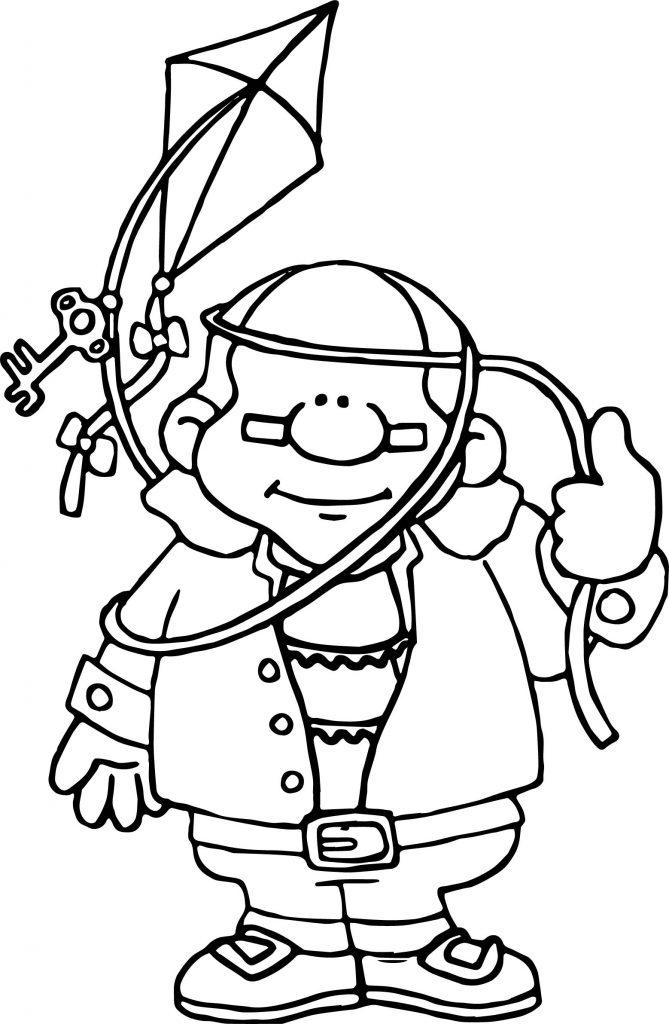 Benjamin Franklin Coloring Pictures - Worksheet & Coloring Pages