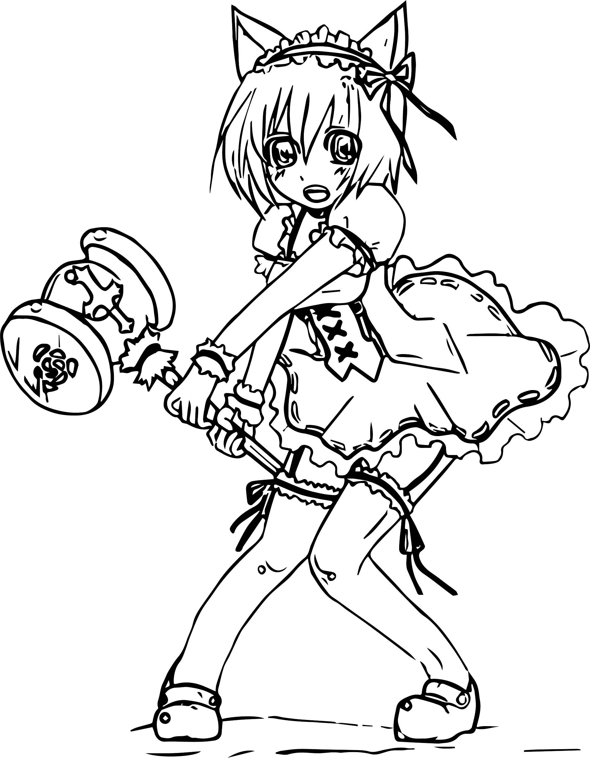 Amy Rose Manga Coloring Page | Wecoloringpage