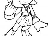 Amy Rose My Hair Coloring Page