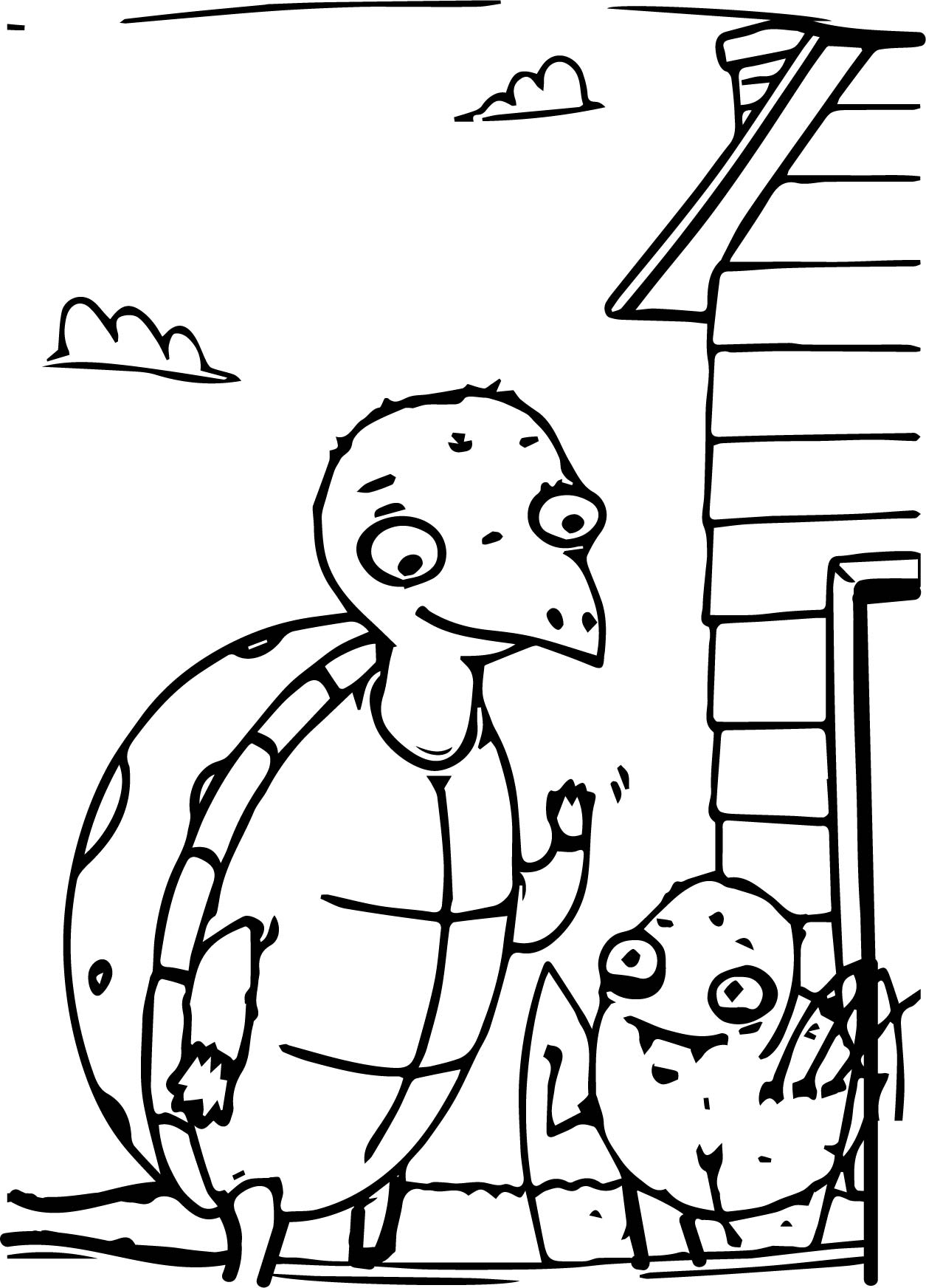 Anansi family coloring page for Anansi the spider coloring pages