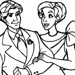 Anastasia Couple Man Woman Coloring Page