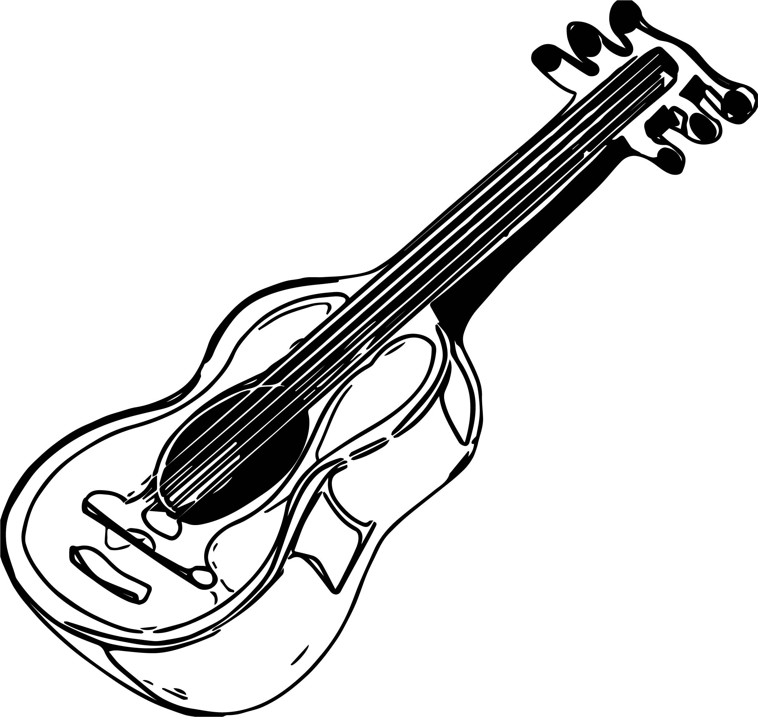 93 Draw Electric Guitar Coloring Page 84 With Additional Pages For Kids Online