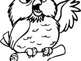 Archimedes Speak Owl Coloring Pages