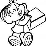 Attendance Box Turma Da Monica Coloring Page