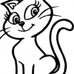 Aveia Cat Turma Da Monica Coloring Page