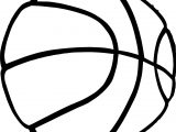 Basketball Hi Ball Playing Basketball Coloring Page
