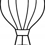 Best Air Balloon Coloring Page