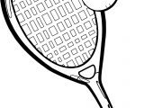 Best Ball And Racket Playing Tennis Coloring Page