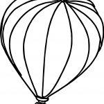 Big Air Balloon Coloring Page