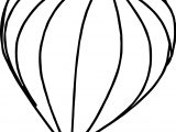 Big Air Balloon Coloring Page