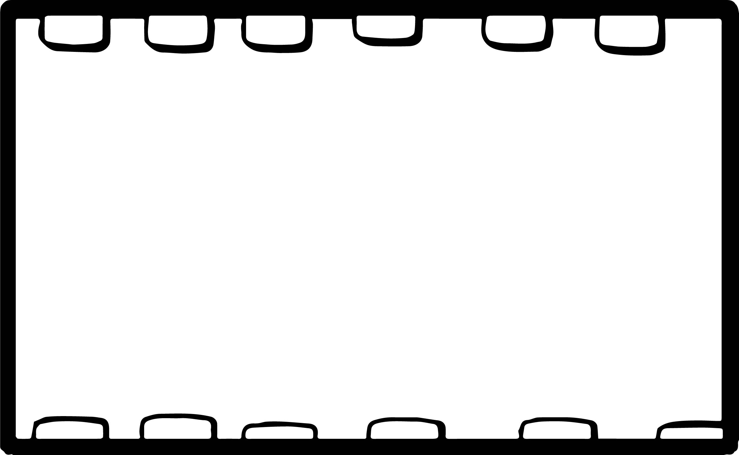 Board Empty Coloring Page