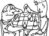Board Lost Coloring Page
