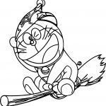 Bratz Doraemon Witch Coloring Page