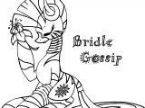 Bridle Gossip Zecora Coloring Page