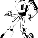 Bumblebee Fire Transformer Coloring Page