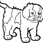 Cartoon Puppy Pictures Puppy Dog Coloring Page