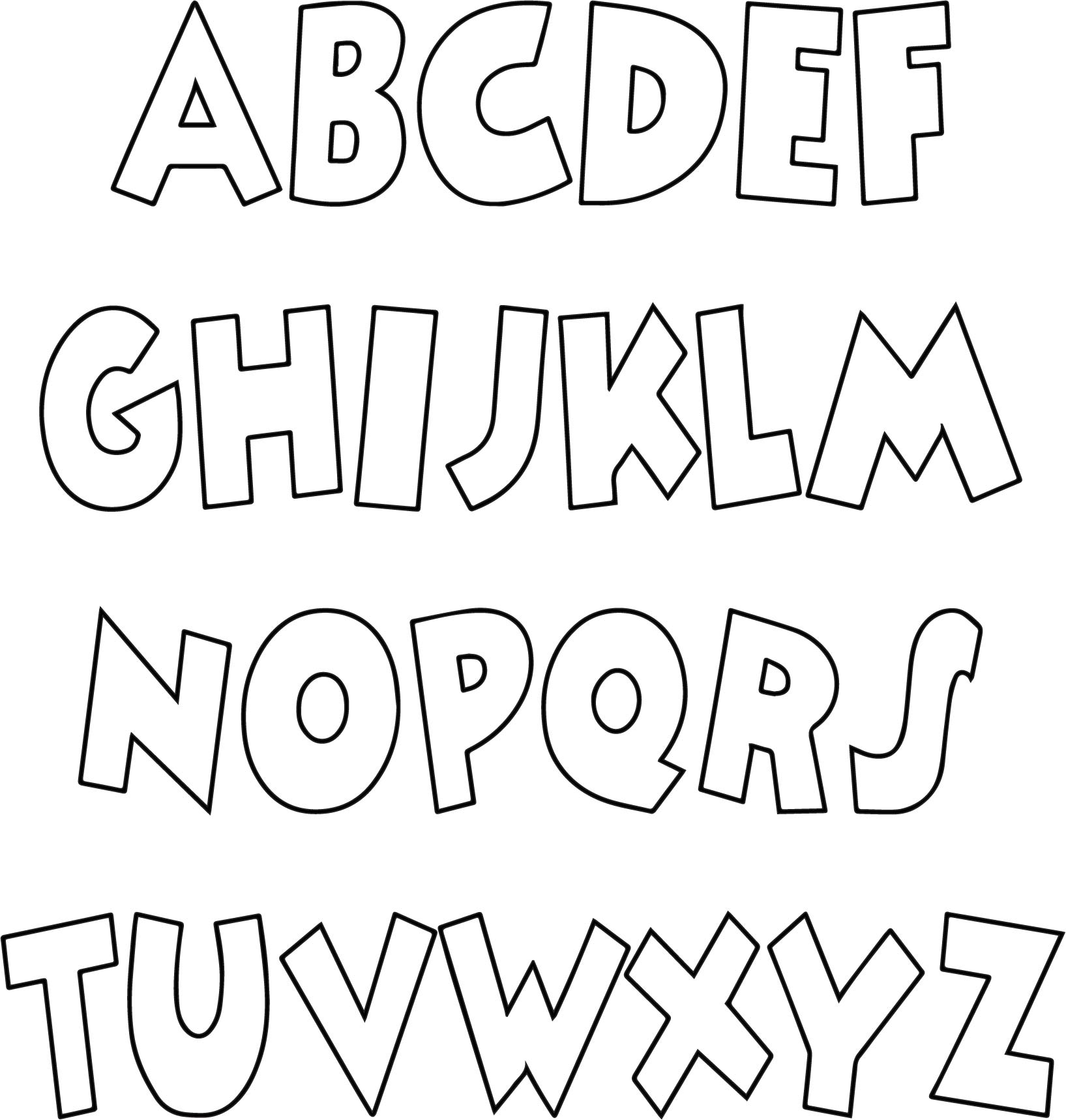 text coloring pages - photo#19