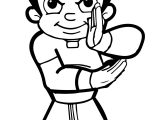 Chhota Bheem Kung Fu Coloring Pages