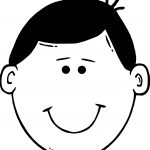 Child Face Coloring Page