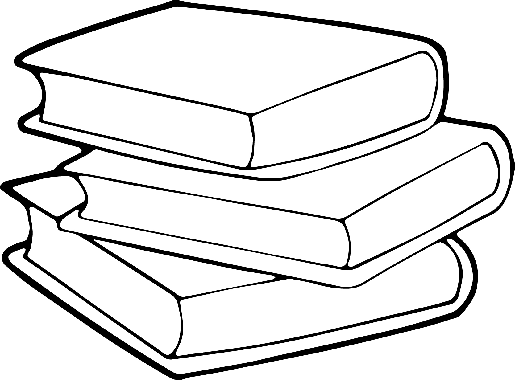 Children Book Coloring Page
