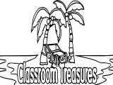 Classroom Treasures Coloring Page