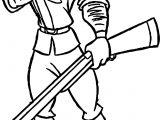 Clayton Gun Coloring Page