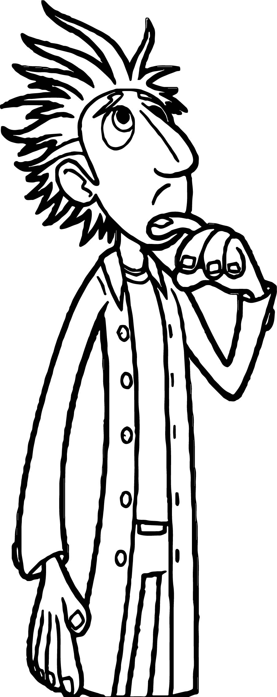 Cloudy With A Chance Of Meatballs Doctor Coloring Page