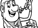 Cloudy With A Chance Of Meatballs Great Meal Coloring Page