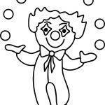 Clown Bild Berufe Bilder Coloring Page