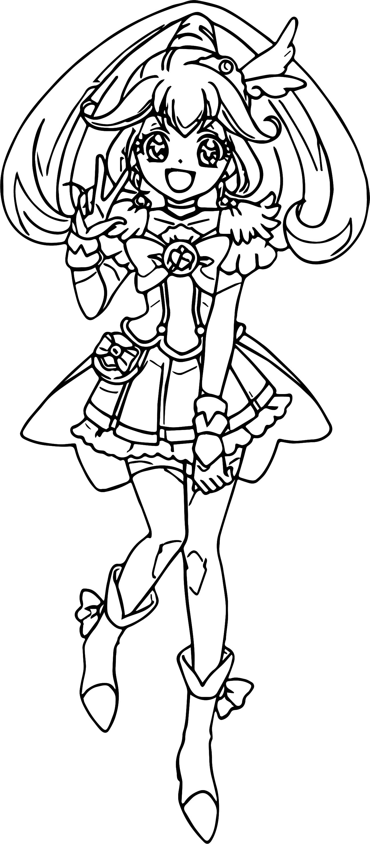 Glitter force characters coloring pages ~ Glitter Force Pages Coloring Pages