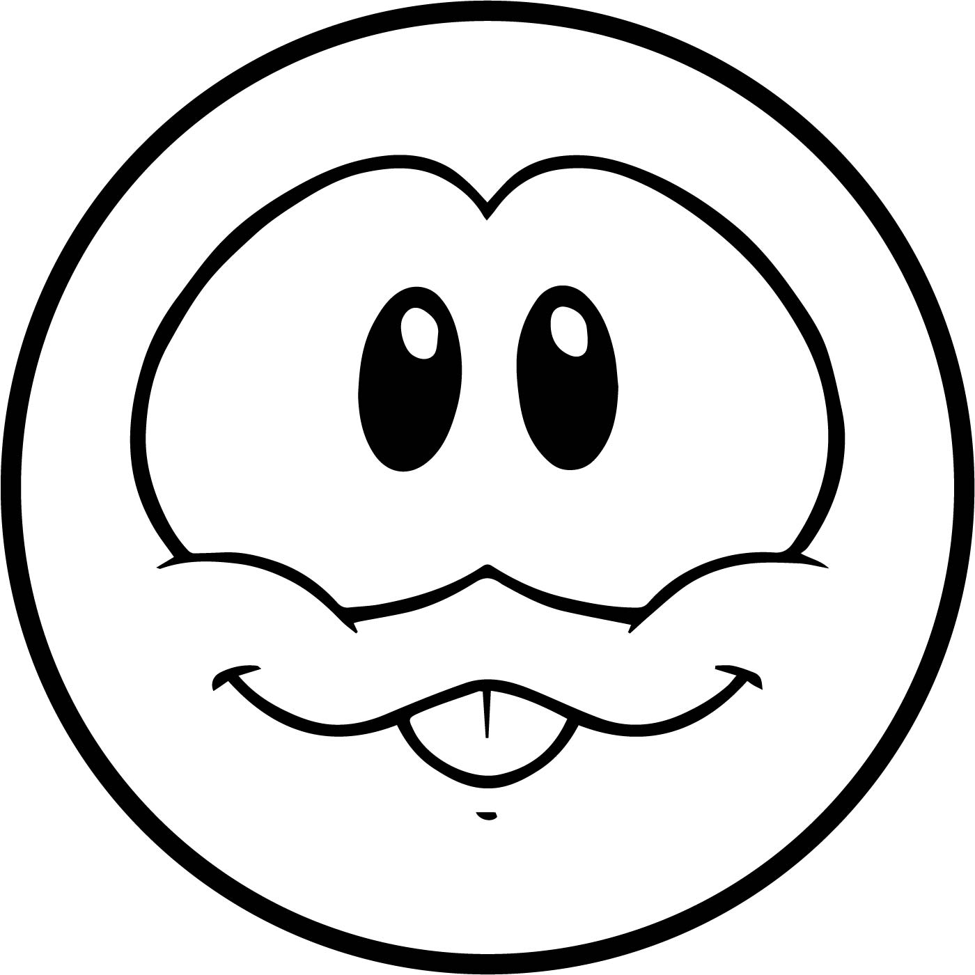 Cute circle club penguin coloring page for Cute penguin coloring pages