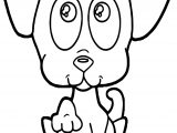 Cute Puppy Begging Puppy Dog Coloring Page