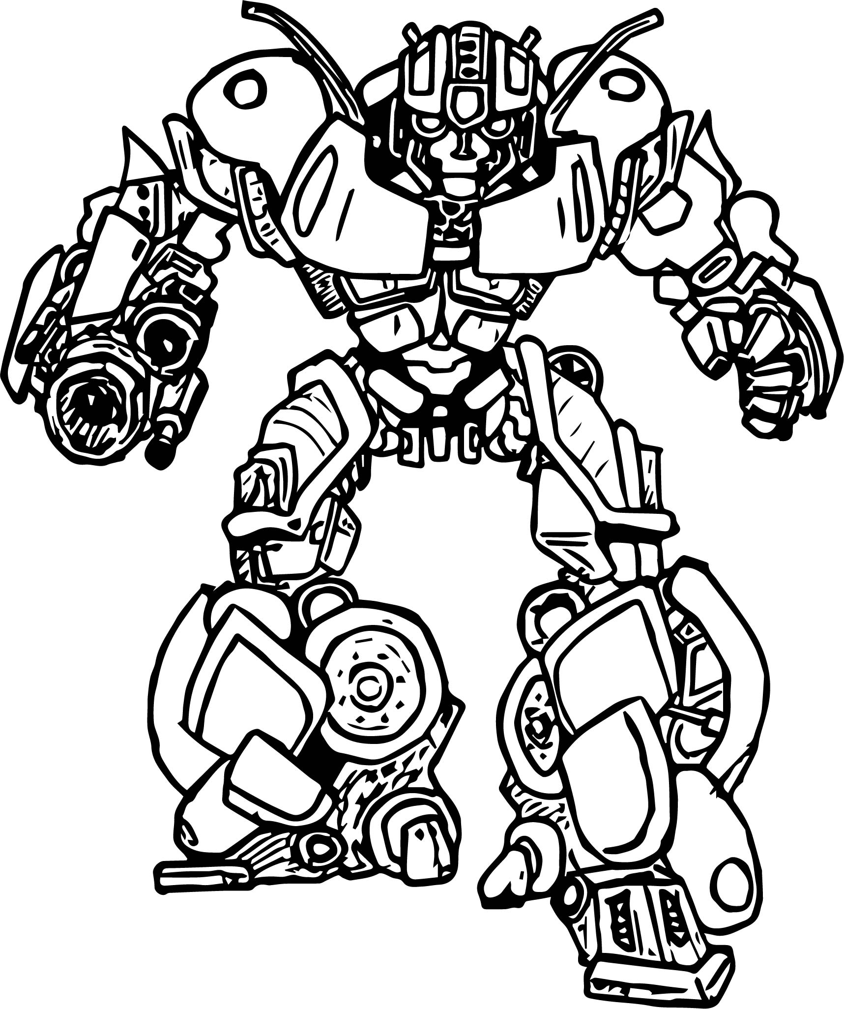 dangerous transformer coloring page - Transformer Coloring Page
