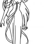 Disney Enchanted Princess Girl Greeting Coloring Pages