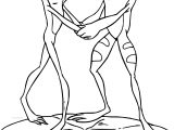 Disney The Princess And The Frog Couple Dancing Frogs Coloring Page