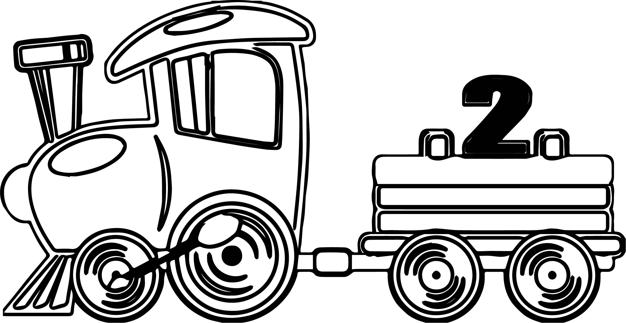 toy train coloring pages - fast toy train coloring page