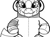 Fat Toy Zecora Coloring Page