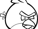 Fine Angry Birds Coloring Page