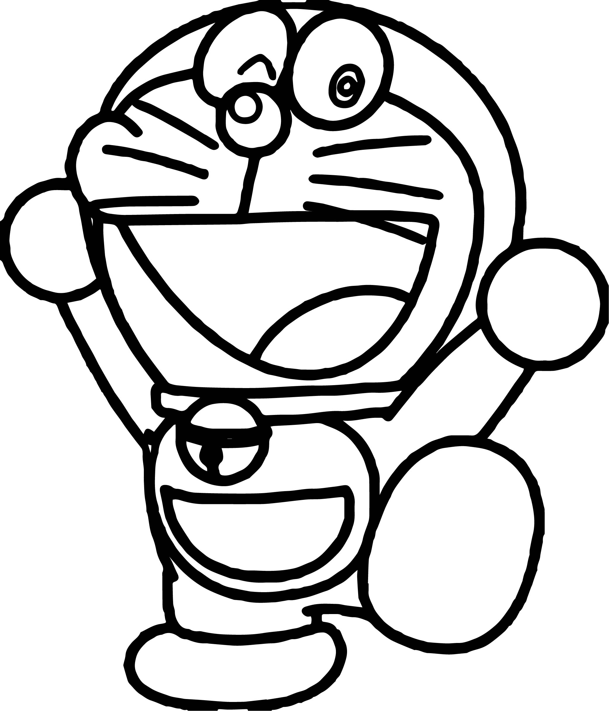 Doraemon And Friends Coloring Pages For Kids Printable