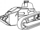 Ft17 Ber Military Tank Coloring Page