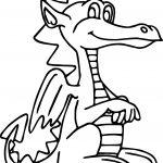 Good Dragon Coloring Page