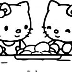 Hello Kitty And Friend Coloring Page