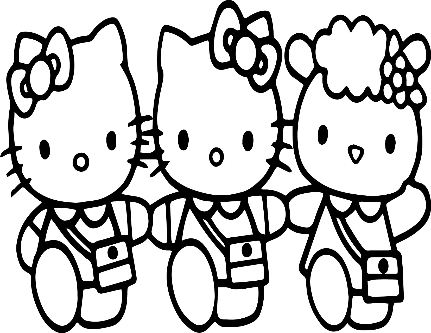 Hello Kitty Coloring Pages Free Online Game