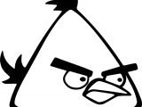 Just Angry Birds Coloring Page